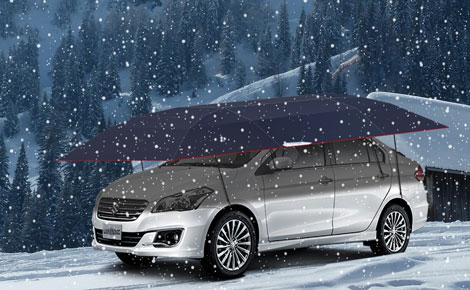 Lanmodoのカーの傘は冬にあなたのカーをどのように保護しますか?