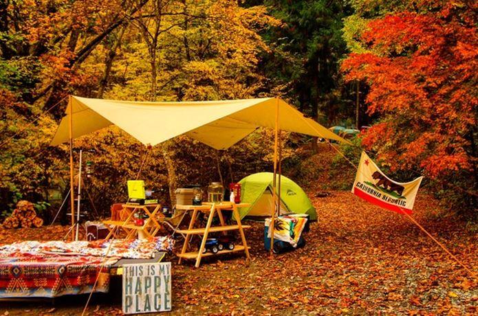 紅葉キャンプ lanmodo