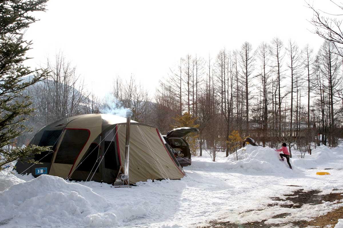 冬キャンプ テント