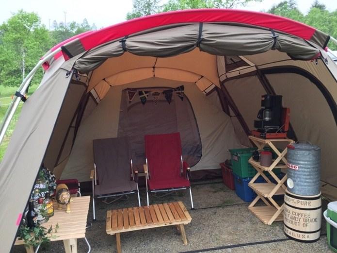 冬キャンプ用テント
