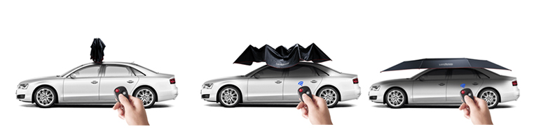 ワンタッチLammodo車用カバー 自動