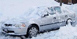 車のカバー用スノープロテクション