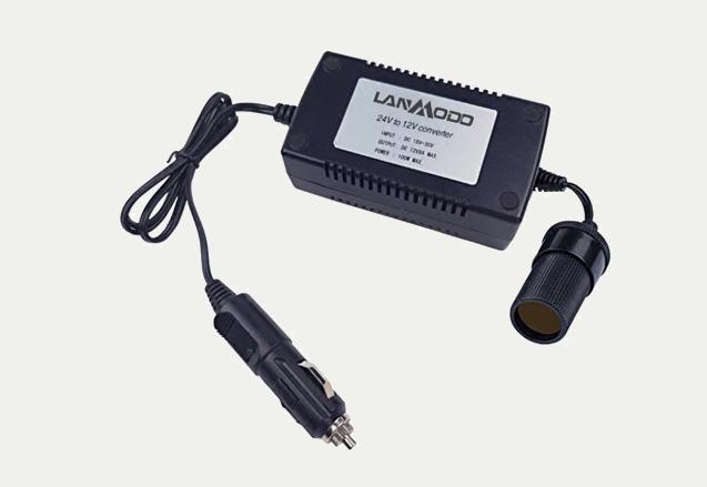 Lanmodo 24V→12V変圧器